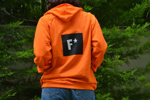 Chapter5 The F Academy Orange Sweatshirt 2