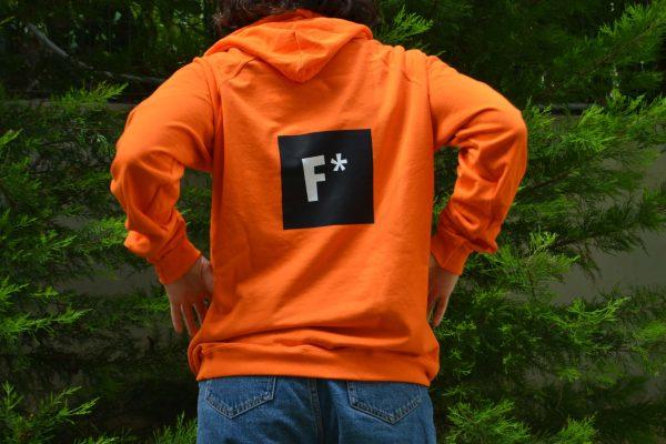 Chapter5 The F Academy Orange Sweatshirt