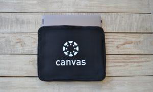 Instructure Canvas laptop case