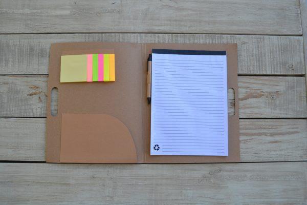 PH7 Upfield conference folder bamboo pen 2