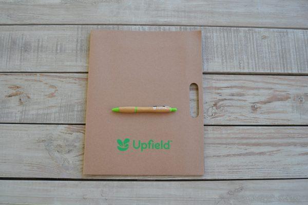 PH7 Upfield conference folder bamboo pen
