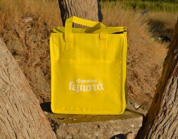 Α.Ε. Φρουτογεμιστά τσάντα ψυγειάκι cooler bag