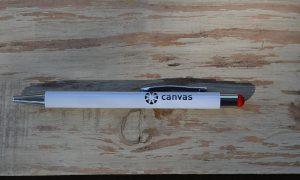 Canvas pen