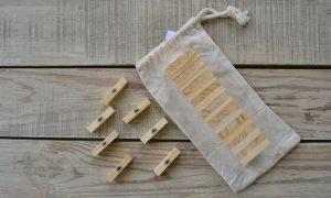 Casamigos wooden blocks