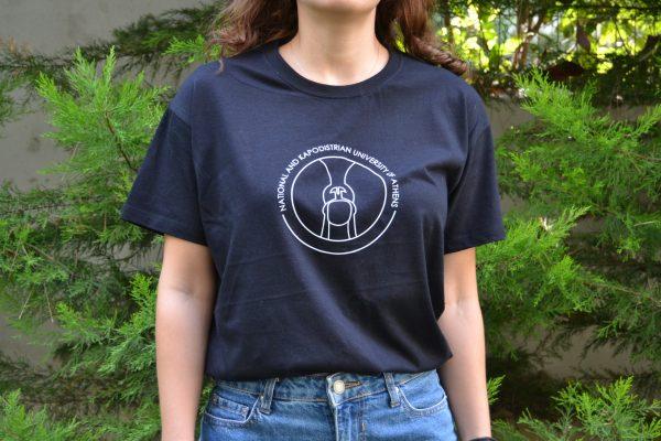 Καπαδοστριακό Πανεπιστήμιο Αθηνών μαύρη μπλούζα