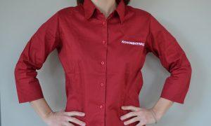πουκάμισο προσωπικού, κόκκινο