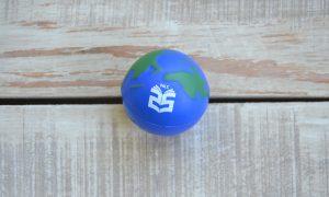 globe antistress ball