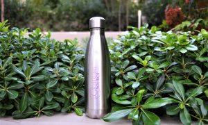 Healing Source ανοξείδωτο μπουκάλι νερού διπλότοιχο