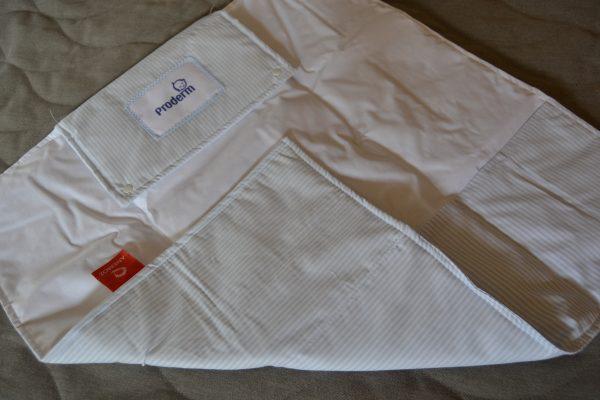 Proderm baby blue changing mat