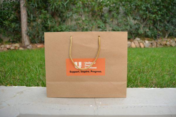 χάρτινη τσάντα kraft