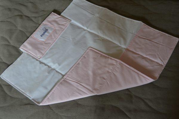 Unilever Proderm pink changing mat