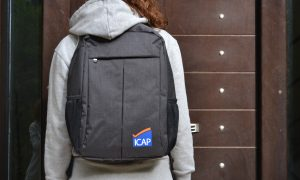 Icap business laptop backpack