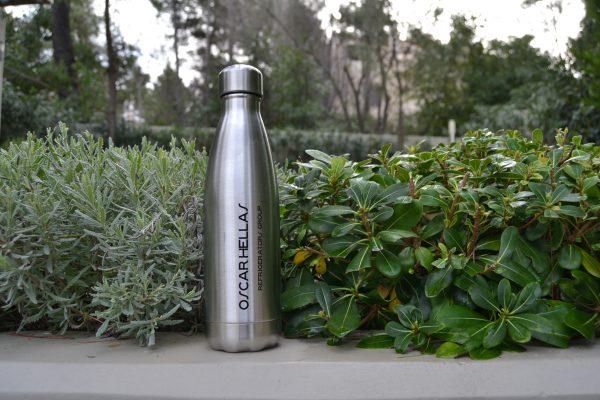 Oscar Hellas stainless steel bottle