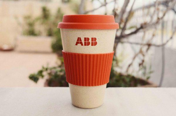 ΑΒΒ, ποτήρι με σιλικονένια λαβή καπάκι