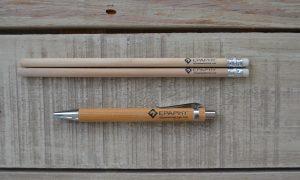 Epaphy Ξύλινο μολύβι στυλό από μπαμπού