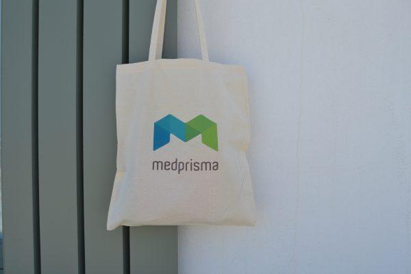 Medprisma υφασμάτινη τσάντα ώμου tote bag