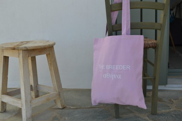 THE BREEDER ΑΘΗΝΑ tote bag