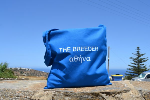 The Breeder Αθήνα πάνινη τσάντα ώμου tote bag 2