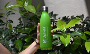 green double wall bottle