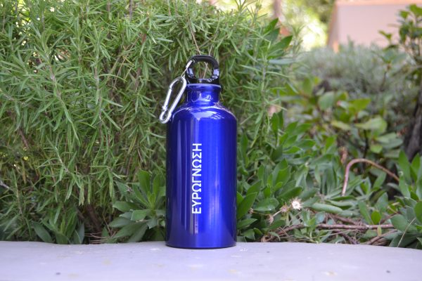 νερού από αλουμίνιο με carabiner