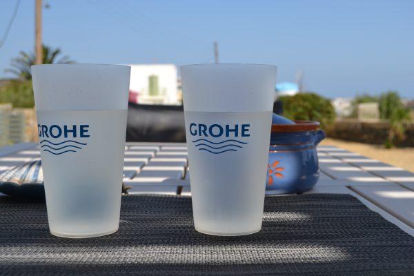 Valuecom, Grohe πλαστικό ποτήρι